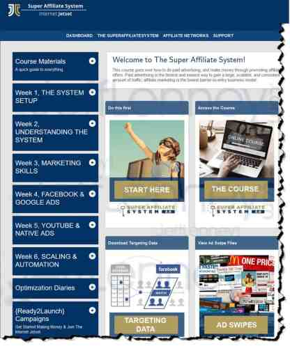 Super affiliate - home page